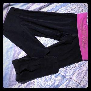 Fold over leggings